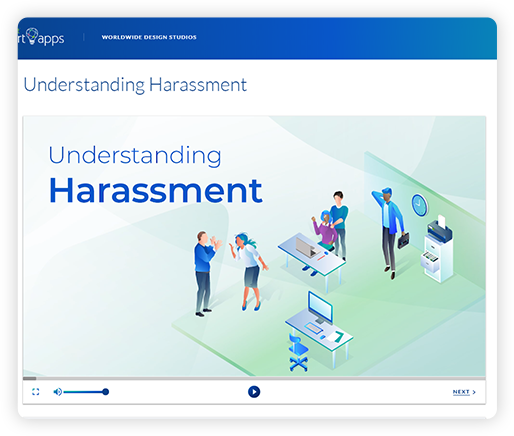 Harassment training module